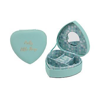 CGB Lahjatavarat pajun ja Rose Tavi sydämen korut laatikko