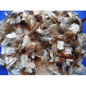 10g Natural Bruneti Design Feathers for Crafts