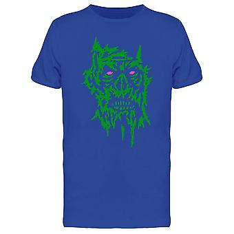 Green Face Of The Darkness Tee Men's -Image by Shutterstock