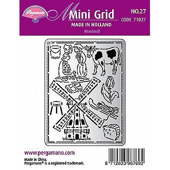 Pergamano Mini Grid 27 Windmill