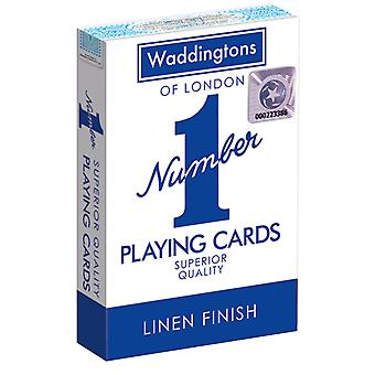 Waddingtons No.1 Playing Cards - Blue