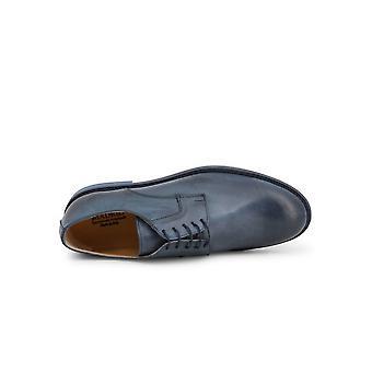 Madrid - Shoes - Lace-up shoes - 604_PELLE_BLU - Men - steelblue - EU 41