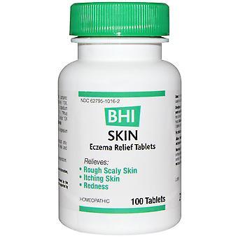 MediNatura, BHI, Skin Eczema Relief Tablets, 100 Tablets