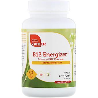 Zahler, B12 Energizer, Advanced B12 Formula, Natural Cherry Flavor, 360 Ruiten