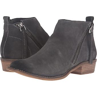 Dolce Vita Womens Sibil Leather Almond Toe Ankle Fashion Boots