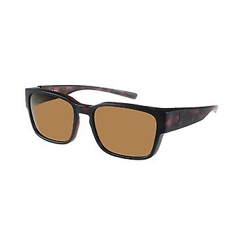 Sunglasses Unisex brown with brown lens VZ0041B