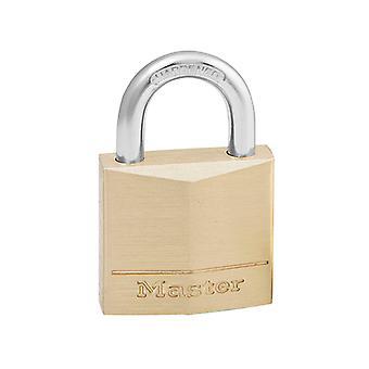Master Lock Solid Brass 30mm Padlock 4-Pin MLK130