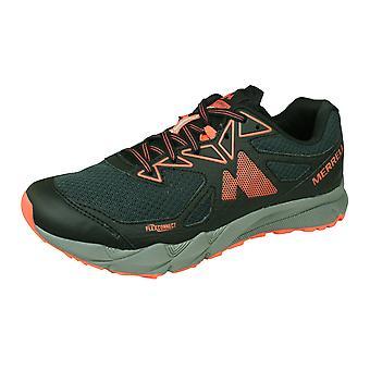 Merrell Agility Fusion Flex Womens Trail Running Allenatori / Scarpe - Granito