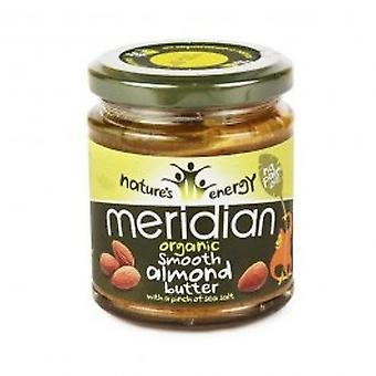 Meridian - Org Smooth Almond Butter 100% 170g