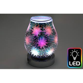 Starburst LED Oil Burner (UK Plug)