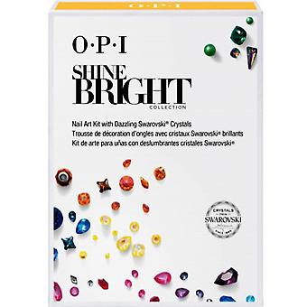 OPI Glanz hell 2020 Limited Edition Holiday Collection - Premium Swarovski Kristall Nail Art Kit (HPM24)