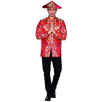 Chiński męski azjatycki kostium karnawał