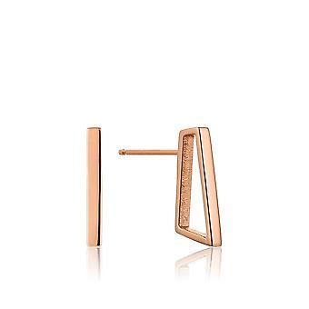 Ania Haie Rose Gold Prism Stud Earrings E008-11R