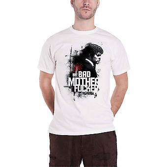 Pulp Fiction T Shirt Bad M Movie Logo nouveau officiel Mens White