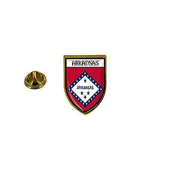 pins pin badge pin's souvenir ville drapeau pays blason etats usa arkansas