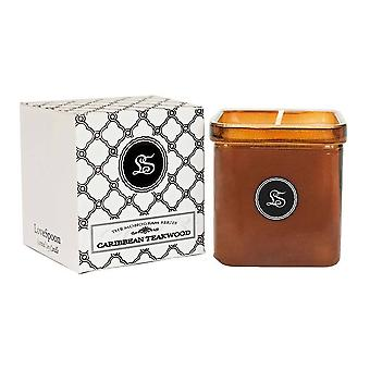 Caribbean Teakwood-luxury Candle