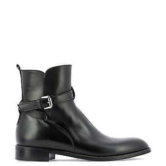 Guglielmo Rotta 3829ccalfnero Women's Black Leather Ankle Boots