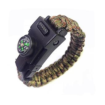 Survival Paracord Led Armband
