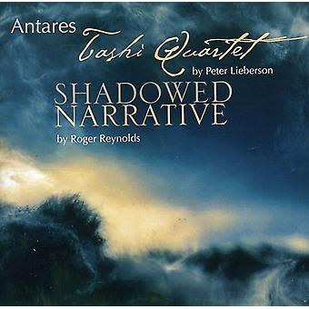 Lieberson/Reynolds - Peter Lieberson: Tashi Quartet; Roger Reynolds: Shadowed Narrative [CD] USA import