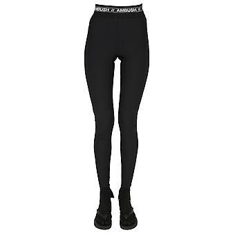 Emboscada Bmca009f20fab0011000 Women's Black Nylon Leggings