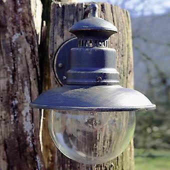 Brilliant Artu 96128/86 buiten muur licht energiebesparende lamp, LED (monochroom) E-27 53 W zwart, goud