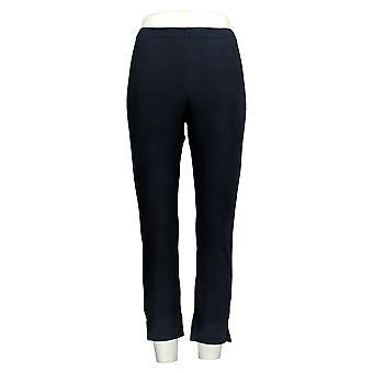 Women With Control Women's Pants Crop Leg Blue A308483