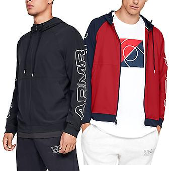 Onder Pantser Mens UA Baseline geweven lichte training warme hoodie