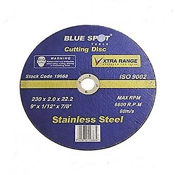 "Bluespot 9"" 230mm cutting discs (ultra thin)"