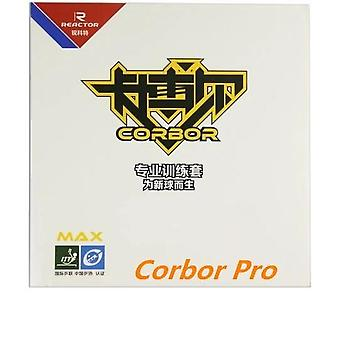 Reactor Corbor Pips-in Table Tennis Rubber With Sponge