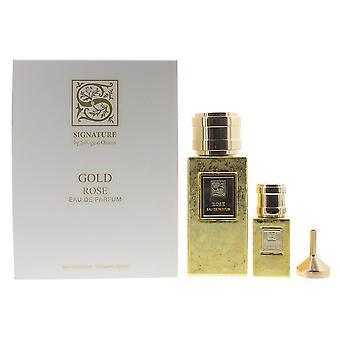 Signature Sillage D'Orient Rose Eau de Parfum 100ml & EDP 15ml Gift Set