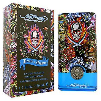 Ed Hardy Hearts & Daggers Eau de Toilette 50ml Spray