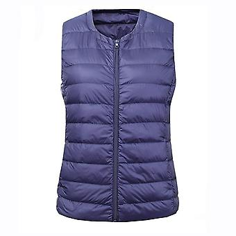New Large Size Winter Warm Ultra Light Down Vest