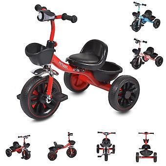 Byox trehjuling Hawk, EVA däck, två förvaringskorgar, strålkastare, melodier