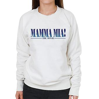 Mamma Mia The Movie Theatrical Logo Women's Sweatshirt