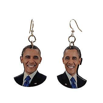 Barack Obama Earrings #t077