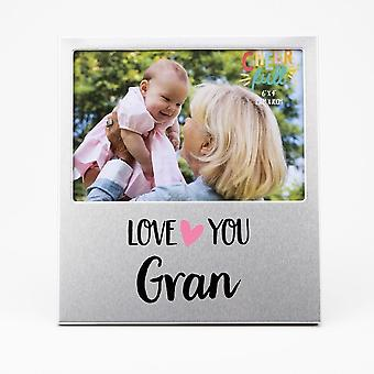 Widdop & Co. Aluminium Frame 6 X 4 - Love You Gran