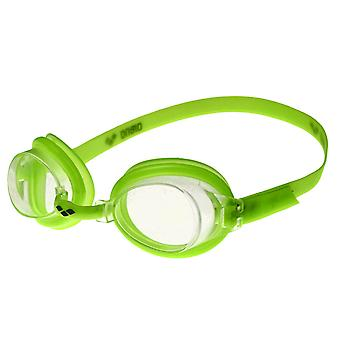 Arena Bubble 3 Junior Swim Goggle - Clear Lens - Lime Frame