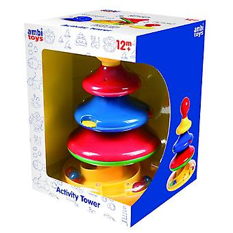 Ambi toys - 31136 | 4-tier stacking activity tower