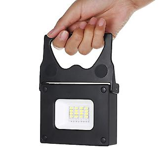 Portable led pocket floodlight, mini power bank high bright for outdoor camping hiking emergency