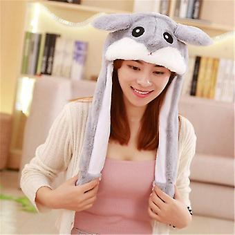 Funny Rabbit Hat Moving Ears, Cute Cartoon Toy Cap