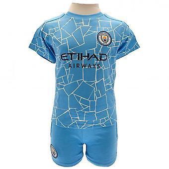Manchester City FC Baby T-Shirt & Shorts Set