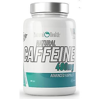 自然健康自然カフェイン 400 mg 90 カプセル