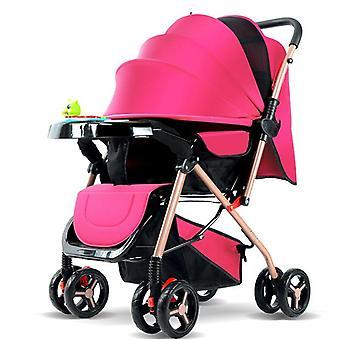 Comfortable High Landscape Carriage Frame Car Portable Umbrella Baby Stroller