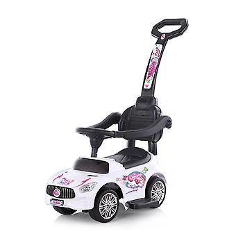 Chipolino Kids Slip Car 2in1 Unicórnio Push Rod Função Música Assento Confortável