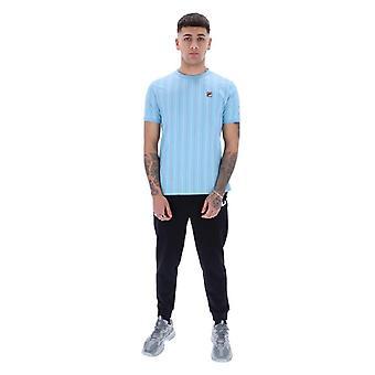 FILA Mica Stripe T-paita - Air Blue/Multi