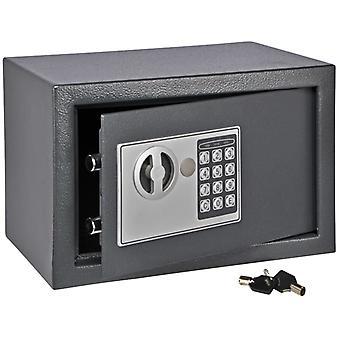 HI bezpieczny z zamkiem elektrycznym ciemnoszary 31×20×20 cm