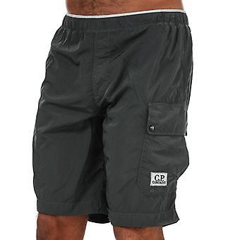 C.p. company men's grey swim shorts