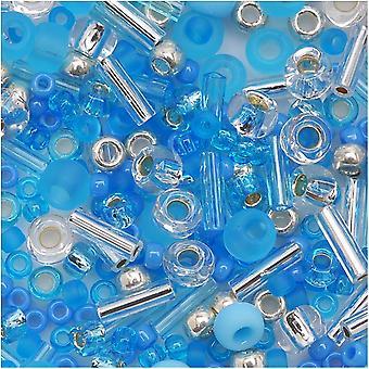 Toho Monimuoto lasi vatsoja 'Aozora' sininen /hopea väri mix 8 gramma putki