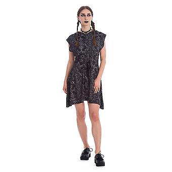 Förbjuden esoteriska huva klänning
