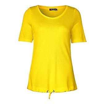Street One 314806 T-Shirt, Bright Yellow, 34 Woman